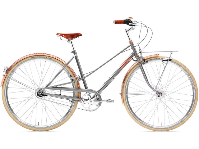 Creme Caferacer Doppio Ladies gray rose